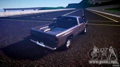Dodge Ram 2500 1994 para GTA 4 visión correcta