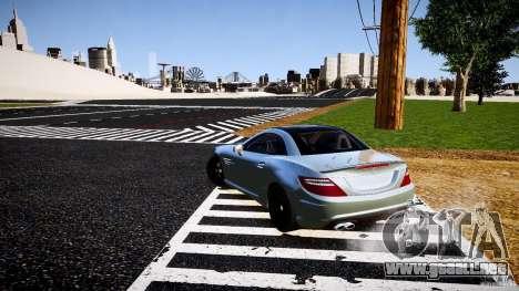 Mercedes-Benz SLK 2012 para GTA 4 vista hacia atrás
