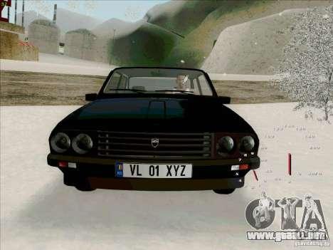 Dacia 1310 Sport para visión interna GTA San Andreas