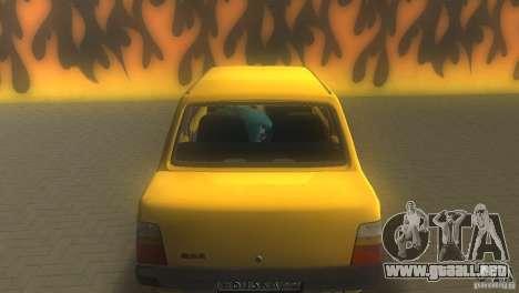 VAZ 1111 Oka sedán para GTA Vice City vista posterior