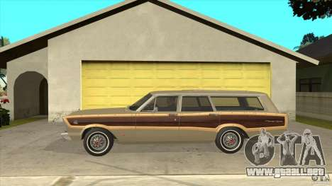 Ford Country Squire 1966 para GTA San Andreas left