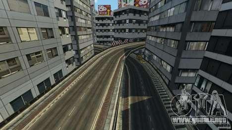 Tokyo Freeway para GTA 4 adelante de pantalla