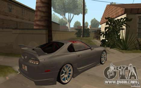 Toyota Supra Rz The Bloody Pearl 1998 para GTA San Andreas