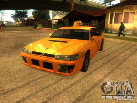 Taxi Sultan para GTA San Andreas left