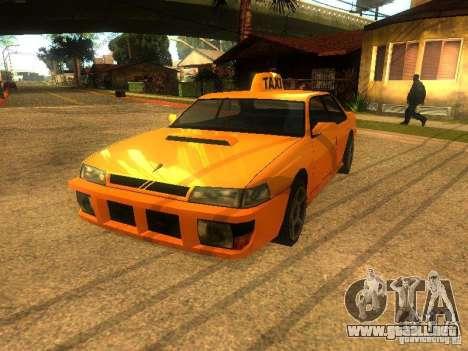 Taxi Sultan para GTA San Andreas left