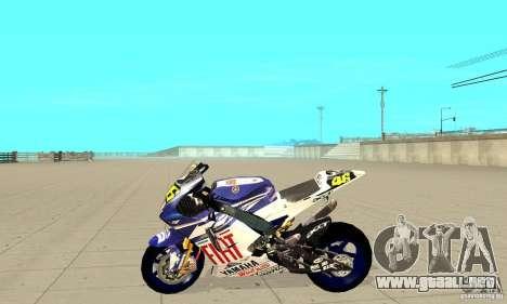 Honda Valentino Rossi Nrg500 para GTA San Andreas left