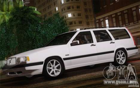 Volvo 850 Estate Turbo 1994 para GTA San Andreas