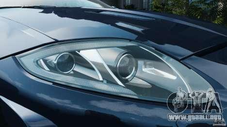 Jaguar XKR-S Trinity Edition 2012 v1.1 para GTA motor 4