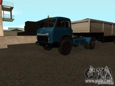 MAZ-504 y para GTA San Andreas