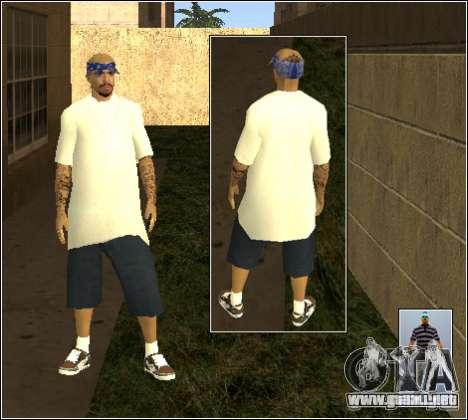 Piel Pack Getto para GTA San Andreas undécima de pantalla