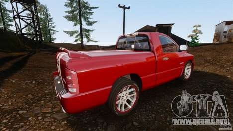 Dodge Ram SRT-10 2006 EPM para GTA 4 left