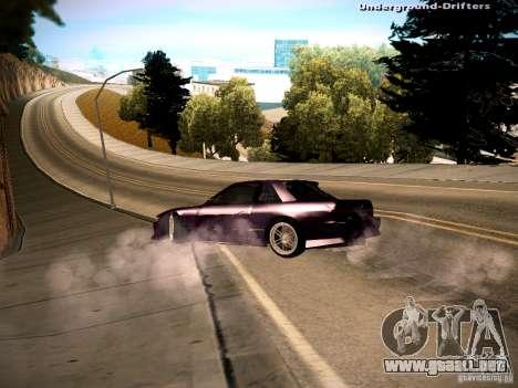 Nissan Silvia S13 Tandem Of DIE para GTA San Andreas left
