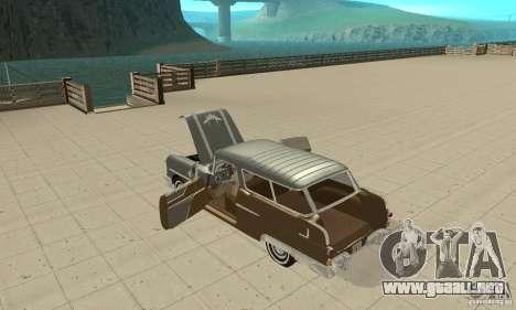 Pontiac Safari 1956 para visión interna GTA San Andreas