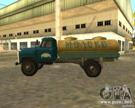 CAMIÓN GAZ 53-12-3 para GTA San Andreas left