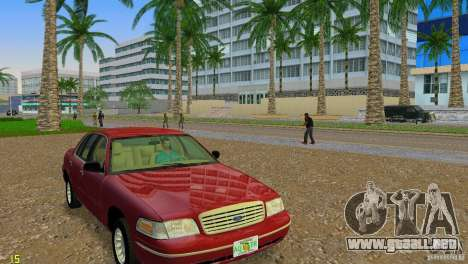 ENBSeries by FORD LTD LX para GTA Vice City