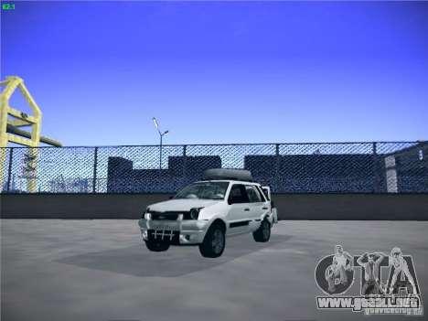 Ford EcoSport 2008 para GTA San Andreas vista hacia atrás
