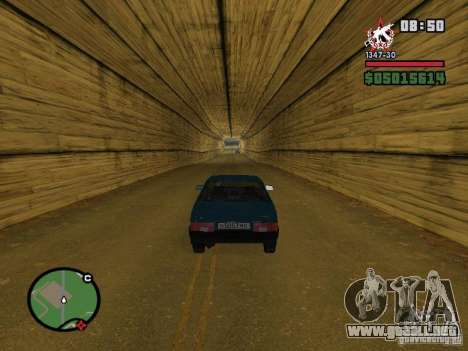 Todas Ruas v3.0 (San Fierro) para GTA San Andreas segunda pantalla