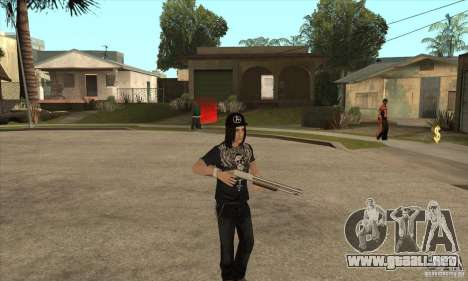Criss Angel Skin para GTA San Andreas tercera pantalla