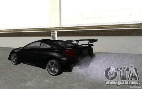 Toyota Celica para vista lateral GTA San Andreas
