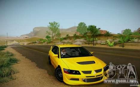 ENBSeries by muSHa v5.0 para GTA San Andreas quinta pantalla