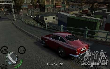 Luces de coche para GTA 4 segundos de pantalla