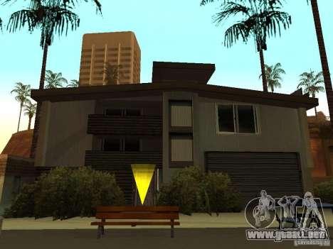 La casa modificada en la playa de Santa Maria 2. para GTA San Andreas