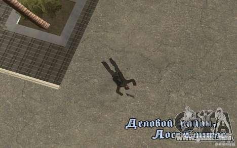 Unique animation of GTA IV V3.0 para GTA San Andreas séptima pantalla