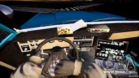 Dodge Diplomat 1983 Police v1.0 para GTA 4 vista hacia atrás