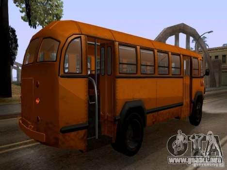 LIAZ 158 para visión interna GTA San Andreas