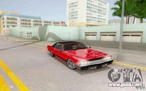 Manana from GTA 4 para GTA San Andreas