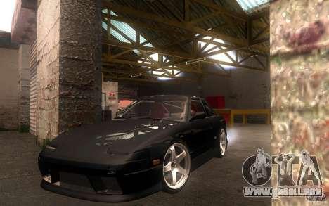 Nissan Silvia S13 Onevia para GTA San Andreas left