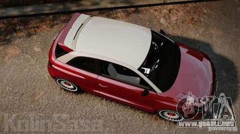 Audi A1 Quattro para GTA 4 visión correcta