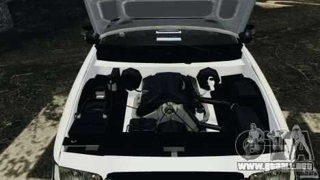 Ford Crown Victoria Police Unit [ELS] para GTA 4 vista lateral
