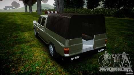 Chevrolet D20 Brigada Militar RS para GTA 4 vista lateral