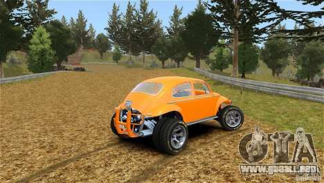 Baja Volkswagen Beetle V8 para GTA 4 left