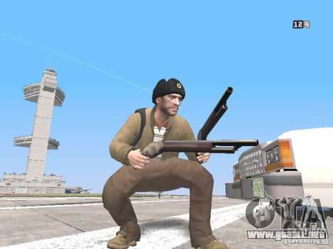 HQ Weapons pack V2.0 para GTA San Andreas tercera pantalla