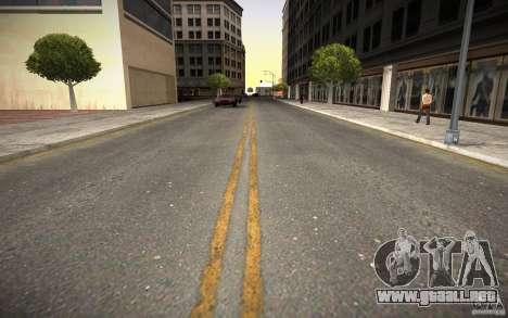Carretera de HD (4 GTA SA) para GTA San Andreas