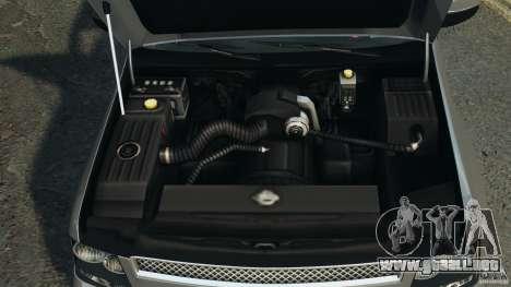Chevrolet Suburban GMT900 2008 v1.0 para GTA 4 vista desde abajo