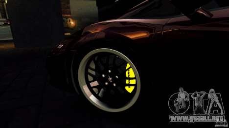 Lamborghini Gallardo Hamann para GTA 4 ruedas