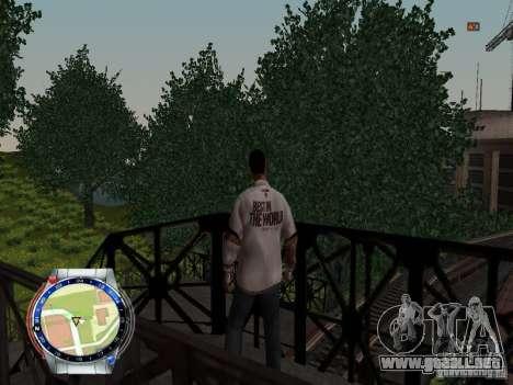 CM PUNK 2011 attaer para GTA San Andreas quinta pantalla