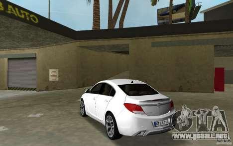 Opel Insignia para GTA Vice City vista lateral izquierdo