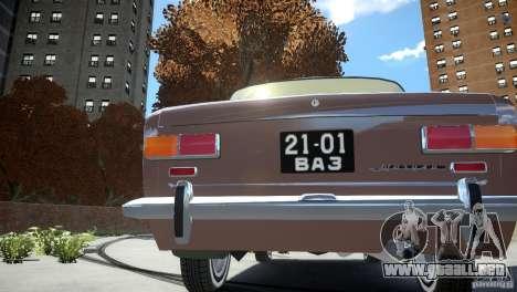 VAZ 2101 Stock para GTA 4 Vista posterior izquierda