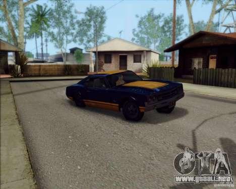 SA_Mod v1.0 para GTA San Andreas tercera pantalla