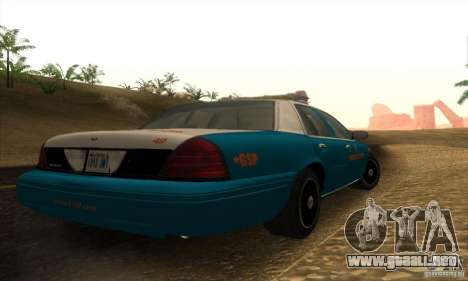 Ford Crown Victoria Georgia Police para GTA San Andreas left