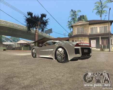 Saleen S5S Raptor para GTA San Andreas left