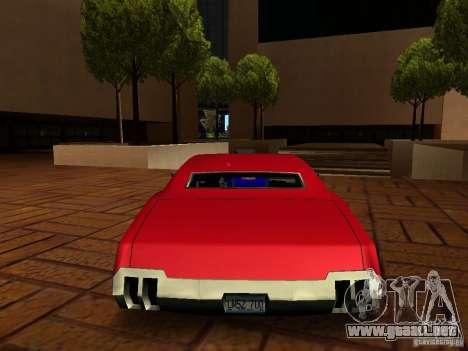 Charger Sabre para GTA San Andreas left