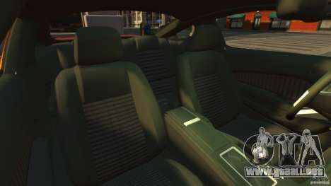 Ford Mustang GT 2011 para GTA 4 vista interior