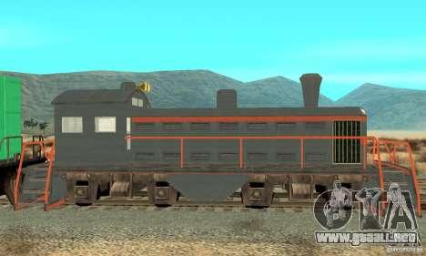 Lokomotive para GTA San Andreas left