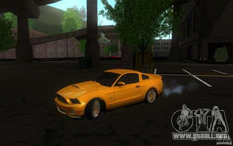 Ford Mustang GT V6 2011 para GTA San Andreas left