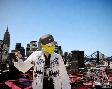 Niko The Mask para GTA 4 quinta pantalla